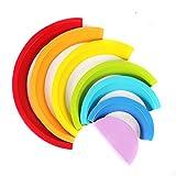 Contever Arcobaleno Impilabile giocattoli Prima infanzia giocattoli-7PCS