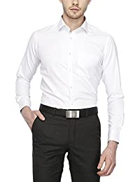 STOP to start Stop by Shoppers Stop Mens Regular Collar Self Pattern Shirt