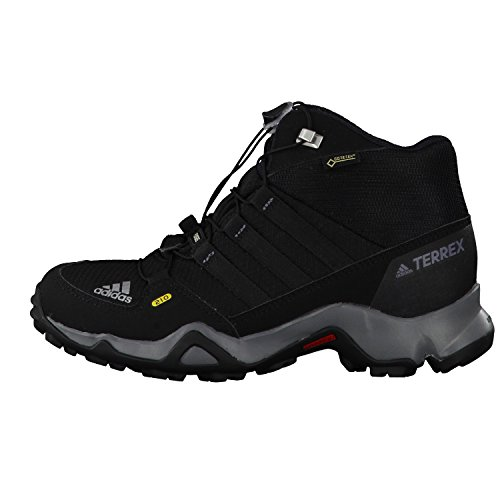 adidas Terrex Mid Gtx K, Scarpe da Arrampicata Basse Unisex – Bambini Blu (Core Black/core Black/vista Grey)