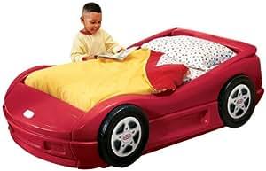 little tikes 170409e13 roadster kinderbett rot spielzeug. Black Bedroom Furniture Sets. Home Design Ideas