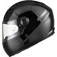 Agrius Rage Solid Motorcycle Helmet M Gloss Black