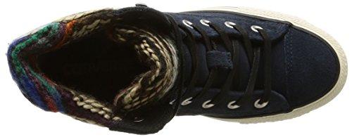 Converse, A/S Hi Platform Plus Collar Su Sneaker,Donna Twilight/Winter Wool