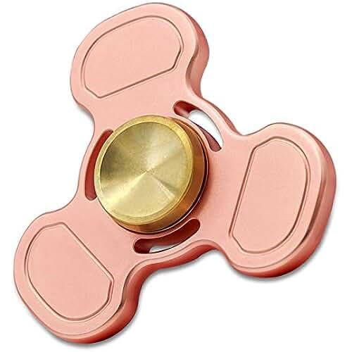 fidget spinner el nuevo juguete de moda Cobre Rojo Fidget Spinner Metal Hand Spinner Fidget Juguetes Práctica de vacaciones de cumpleaños para adultos y niños Presentski