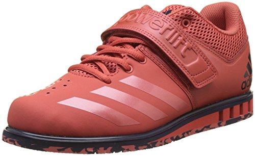 adidas Herren Powerlift.3.1 Gymnastikschuhe, Rot (Trace Scarlet S18/Trace Scarlet S18/Noble Ink F17 Trace Scarlet S18/Trace Scarlet S18/Noble Ink F17), 37 1/3 EU (Adidas Herren Volleyball Schuhe)