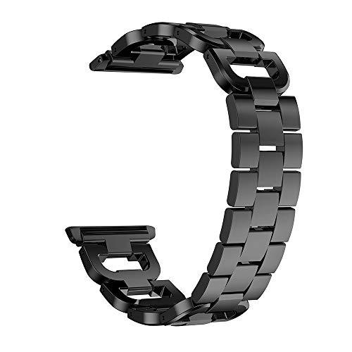 gaddrt Uhrenarmband Edelstahl Armband Smart Watch Band Strap für Apple Watch Series 4 40MM (Schwarz)