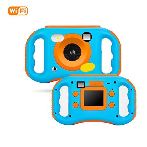 MBEN Kinderkamera, mit WiFi-Link 1,77 HD-Farbbildschirm, wiederaufladbare 5Mp-Digitalkamera für Kinder, Spielzeugkinder für Geburtstagskinder, 16G-Speicherkarte