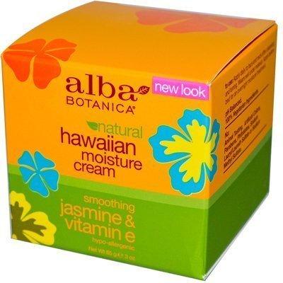 Alba Botanica Jasmin & Vitamin E Feuchtigkeitscreme Creme (1 x 3 Oz)