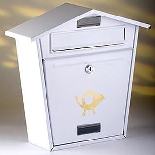 ARBORIA GARDEN DECOR MAIL BOX WHITE