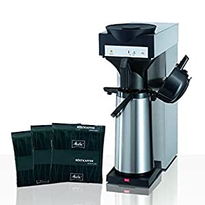 melitta m 170 mt filter kaffeemaschine inkl pumpkanne melitta kaffee spezial 75 x 60g. Black Bedroom Furniture Sets. Home Design Ideas