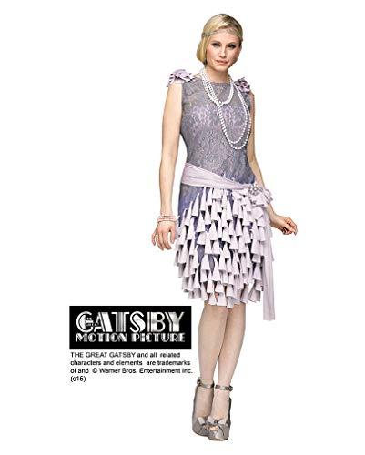 Horror-Shop Der Große Gatsby Daisy Buchanan Damenkostüm aus den 20er Jahren S