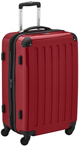 HAUPTSTADTKOFFER - Valigia Rigida Alex, TSA, Taglia 65 cm, 74 Litri, Colore Rosso