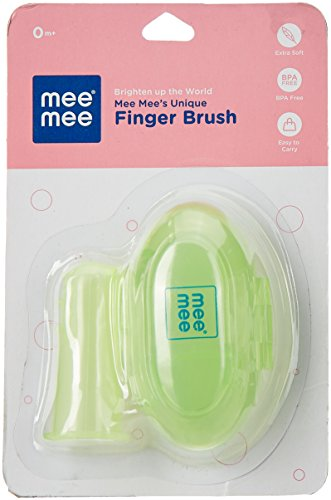Mee Mee Finger Brush (Green)