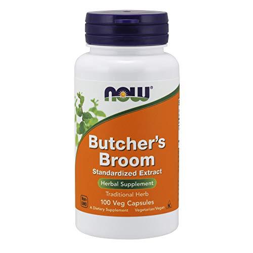 Now Foods Butcher'S Broom, 100 Caps 500 mg