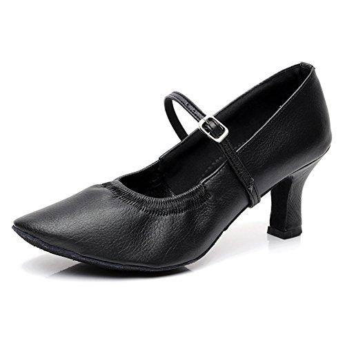 Lady Modern Dance Shoes/Weiche Tanzschuhe am Ende des/Flammte Latin Ballroom Dance Schuhe A