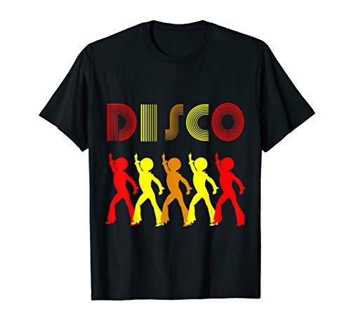 Disco Besten Kostüm - Disco King 70er Jahre Vintage Dance Party Geschenk T-Shirt