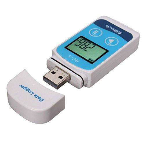 MagiDeal Registrador Datos Temperatura Alta Precisión