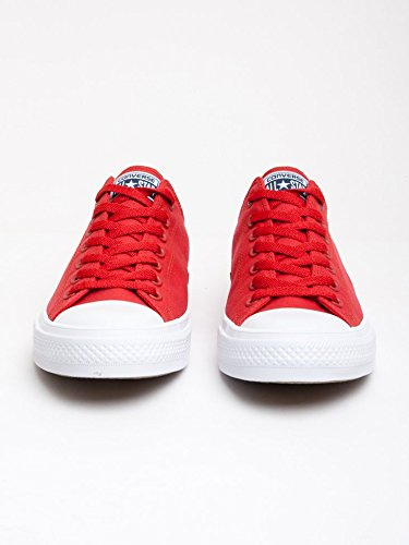 Converse Unisex-Erwachsene Sneakers Chuck Taylor All Star Ii C150149 Low-Top Red White