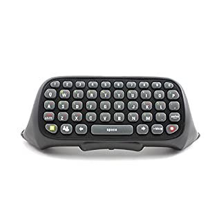 Arpoador black Wired/Wireless Keyboard Keypad Text Message Chatpad for Xbox360 Controller