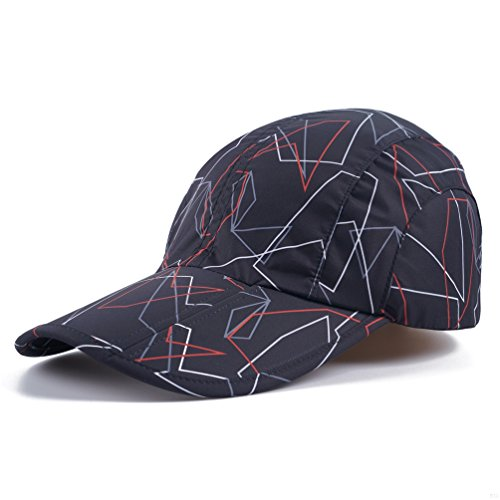 Black Camo Hats,Camouflage Caps Breathable Running Quick Dry Folding Brim Hat Under 10 UV Sun Protection Visor Sport Hats Adult Outdoor Fishing Golf Baseball Hiking Cap for Men Women - Cap Camo Gi