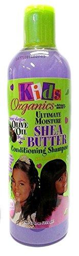 Africa S Best Kids Organics Shampoing le beurre de karité Masques de 355 ml