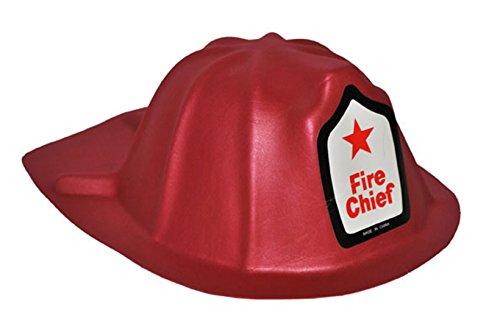 Fancy ole–vigili del fuoco casco fire chief–bambini adulti vigili del fuoco di casco, rosso