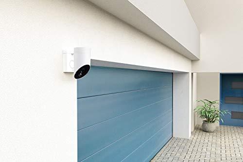 41PrbLZ0JtL [Bon Plan Smarthome!]  Somfy 2401560 - Outdoor Camera | Caméra de surveillance extérieure Wifi | 1080p Full HD | Sirène 110 dB | 3 branche...