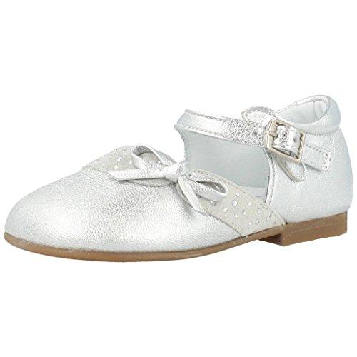 Landos Zapatos Cordones 30Y126 para Niñas Plateado 20 EU