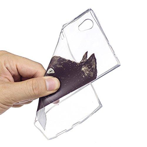 KANTAS 3X Coque Silicone Transparente pour Sony Xperia XA1 Ultra TPU Doux Back Case Caoutchouc Gel Etui Clair Ultra Mince Coquille Slim Fit Flexible Housse Silicone Souple Rubber Soft Clear TPU Bumper 1