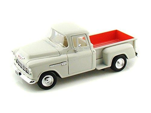 1955 Chevy Stepside Pick-Up 1/24 White
