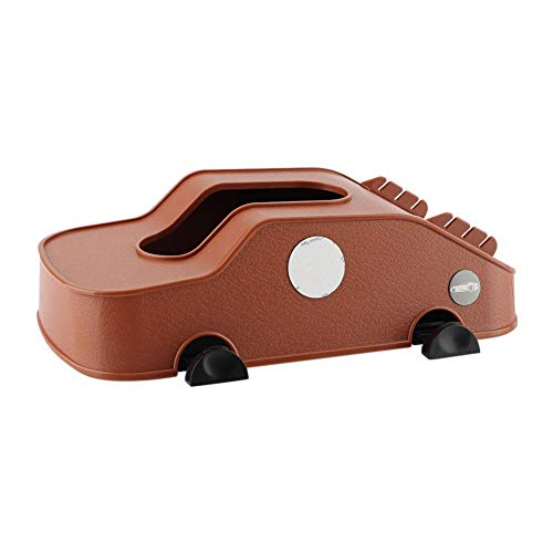 EBTOOLS Auto Papier Box Auto Tissue Box Sitz Zubehör Auto Home Tissue Box Telefon Kartenhalter Papier Abdeckung Fall Multifunktionale(braun) - Kartenhalter Telefon-abdeckung
