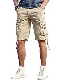 design senza tempo 49898 f0002 Amazon.it: Bermuda beige con tasche laterali - Ammissibili ...