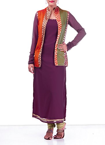 Fashionista Enticing Purple Churidar Suit Size :34 Color : Purple
