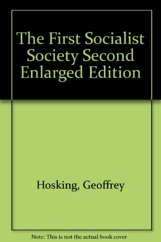 The First Socialist Society Second Enlarged Edition