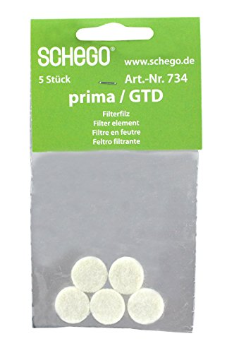 Schego 734 Filterfilz für Membranpumpe Prima, 5 Stück Preisvergleich