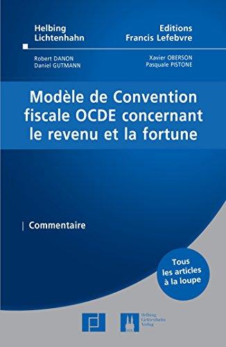 Modle de Convention fiscale OCDE concernant le revenu sur la fortune: Commentaire