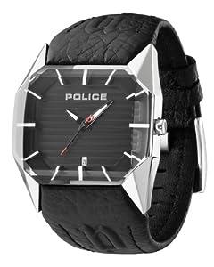 Reloj Police PL.12176JS-02A de cuarzo para hombre con correa de piel, color negro de POLICE