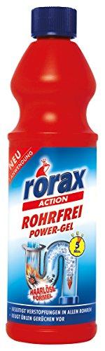 Frosch Rorax Rohrfrei Power-Gel, 500 Ml