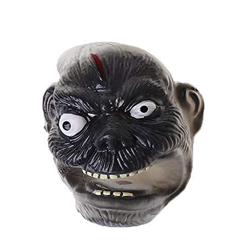 Kofun Mini Monster Puppet, Halloween Mini Ghost Monster Finger Puppet Spielen Kinder Geschichtenerzählen Streich Spielzeug 1 Stück Farben Nach dem Zufallsprinzip