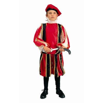 RG Kost-me 90069-M Renaissance Boy Kost-m - Gr--e Child-Medium