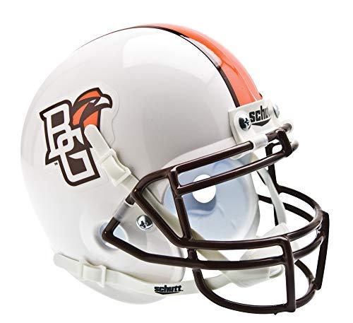 Schutt Sports NCAA Bowling Green Falcons Mini Authentic Football Helm, Unisex, White Alt. 1