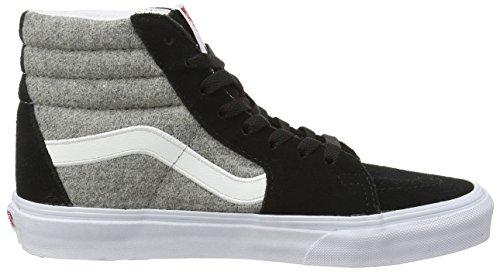 Vans U Sk8-hi Wool Sport, Sneakers Hautes mixte adulte Multicolore ((wool Sport) Black/gray