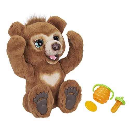 Hasbro FURREAL Friends E4591EU4 FurReal Cubby, Mein Knuddelbär, interaktives Plüschtier, ab 4 Jahren, braun