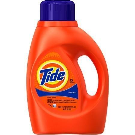 Tide Original Scent Liquid Laundry Detergent, 40 fl oz by Tide