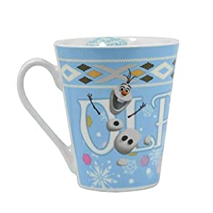 Disney Frozen Olaf Design Ceramic Mug by ukgiftstoreonline