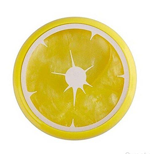 Kristall Fruit Ton Gummi Mud Intelligente Hand Gum Knetmasse schlamm Kid toys-honestyi-yellow (Für Lebensmittel Niedliche Halloween Kinder)