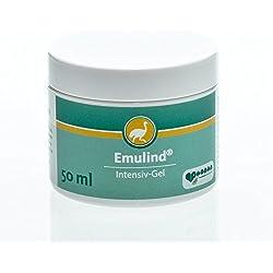 Emulind Intensiv-Gel bei Verbrennungen und Sonnenbrand, zur Intervallbehandlung bei Neurodermitis oder Psoriasis, 50 ml