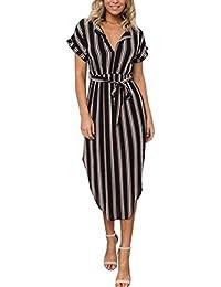 690b5930fd Amazon.es  vestidos ibicencos mujer blanco - Faldas   Mujer  Ropa
