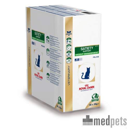 Royal Canin Veterinary Diet Cat satiety Frischebeutel 12x 85g -