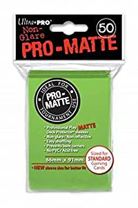 Ultra Pro SLEEVES Pro-Matte d12 Card Game (Lime Green)