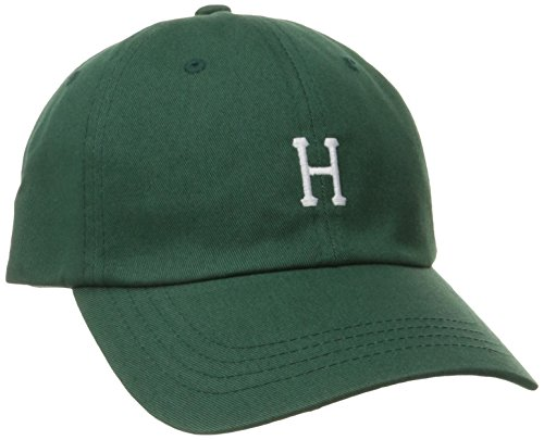 HUF Classic H Curved Visor Spruce White